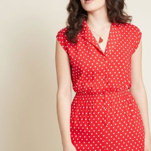"""""""Read It and Steep"""" Modcloth Romper"""